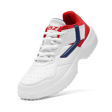 R1 Junior Basic Cricket Shoes Navy Red Color