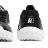 R1 Junior Basic Cricket Shoes Black White Color