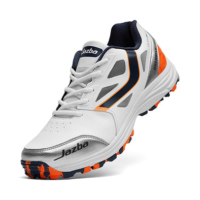 ONEDRIVE 111 Men Cricket Shoes Standard Level Navy Orange Color