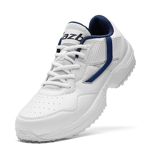R1 Men Basic Cricket Shoes White Color