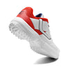 R1 Men Basic Cricket Shoes White Red Color