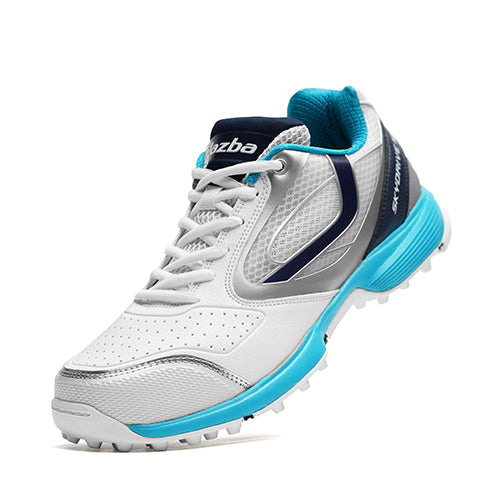 SKYDRIVE 101T Men Cricket Shoes White Teal Color