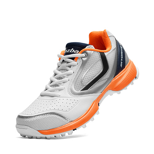 SKYDRIVE 101T Men Cricket Shoes Navy Orange Color