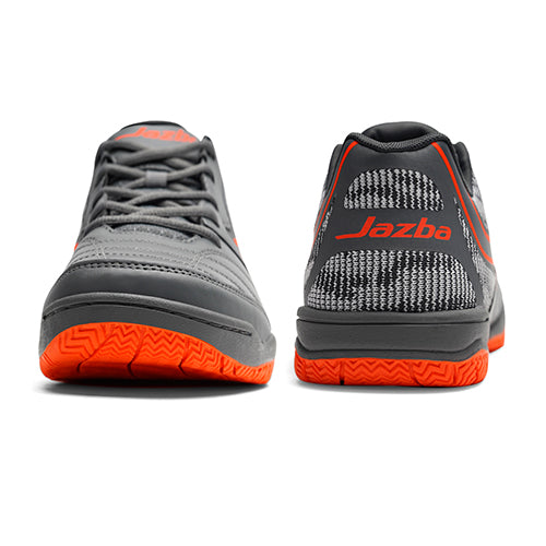 LIZARDO 1X Men Court Shoes Graphite Flame Color