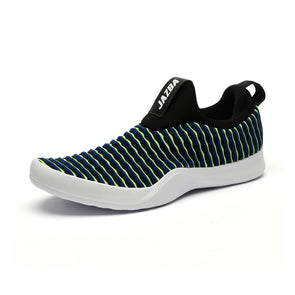 Lehar Men Shoes - Blue Lime