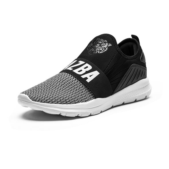 Zabar Men Shoes - Black White