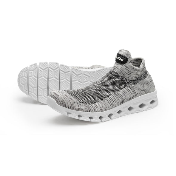Qatra Men Shoes - Grey