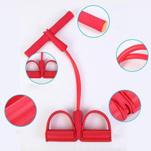 Load image into Gallery viewer, Resistance Training Bands Elastic Pull Rope Exercise Pedal Exerciser