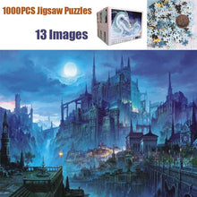 Load image into Gallery viewer, 1000 Pcs High Definition Large Puzzles Toys 13 Patterns