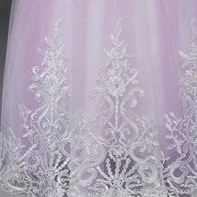 Load image into Gallery viewer, Flower Girl Dresses Off Shoulder kleingo Laced Dress 13 Colors