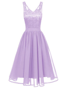 Flowergirl Vintage 1950s Strapped Hapqeelin Dress purple