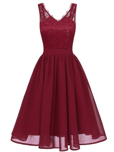 Flowergirl Vintage 1950s Strapped Hapqeelin Dress WineRed