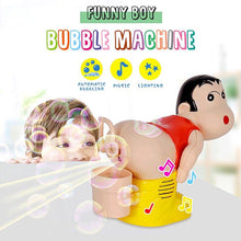 Load image into Gallery viewer, Kids Chidren Bubble Machine Cartoon Automatic Bubble Maker Bath Blower Music Funny Toy