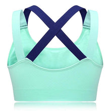 Load image into Gallery viewer, Hit Color X Shape Back Sports Bra