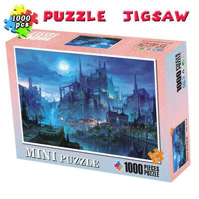 1000 Pieces Jigsaw Puzzles Decompression Gift Night Kids Adults Educational Toys