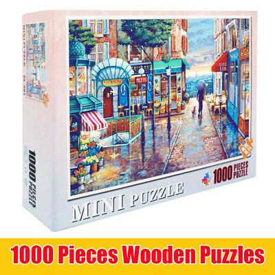 1000 Piece Jigsaw Puzzles Adult Children Diy Wooden Toys Educational Gifts