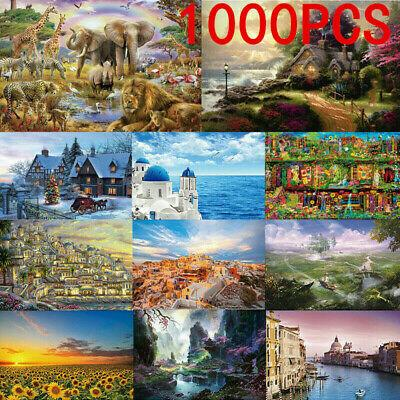 1000 Pieces Jigsaw Puzzles Educational Puzzle Toy Decompression Game Gift Random