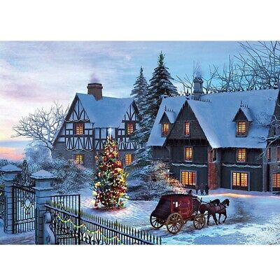 1000 Pieces Diy Jigsaw Puzzle Christmas Puzzles Adult Child Toys Decoration