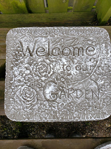 Welcome to our Garden (Wall Hanger)