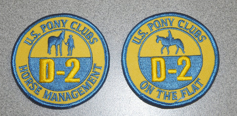 Vintage Patch - D-2 Certifications