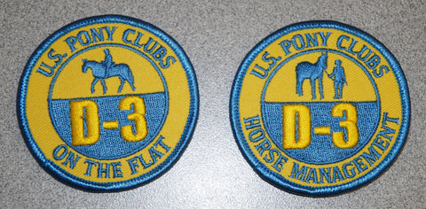 Patch - D-3 Certifications