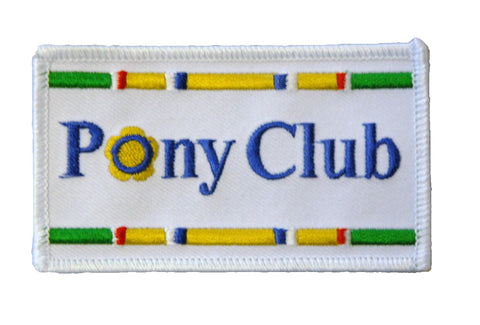 Pony Club Patch