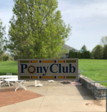 Load image into Gallery viewer, Pony Club Re-positional Sticker