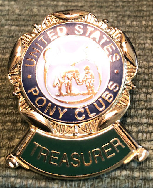 Pin- Treasurer