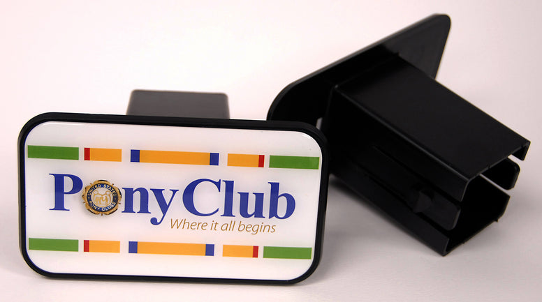Pony Club Trailer Hitch Cover