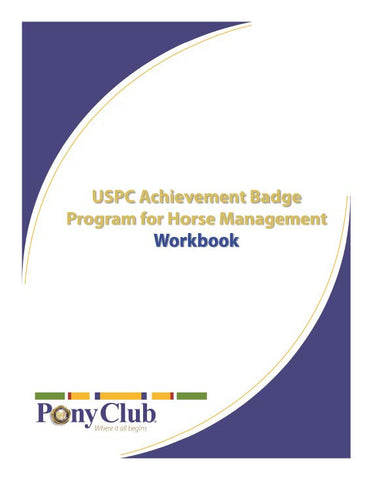 Achievement Badge Program for Horse Management Workbook