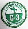 Vintage Patch - C-3 Certifications
