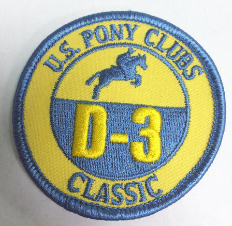 Vintage Patch - D-3 Certifications