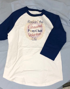 Pony Club Raglan Jersey Shirt
