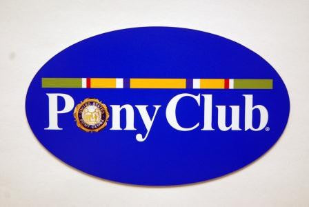 Pony Club Car Magnet