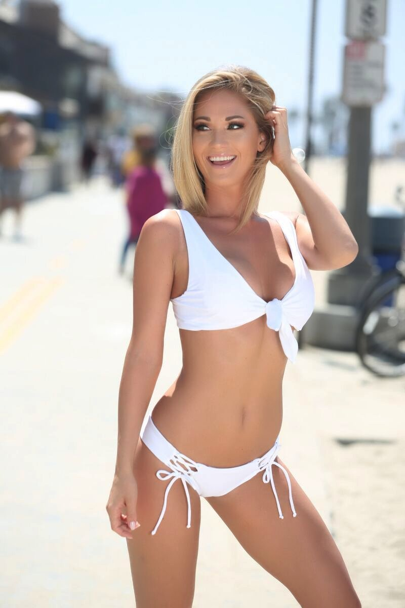 Avery Top in White - Sweet Treat Bikinis