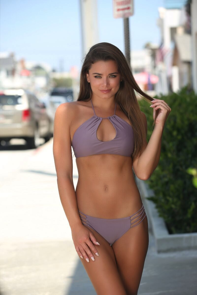 Stella Bottom in Mauve - Sweet Treat Bikinis