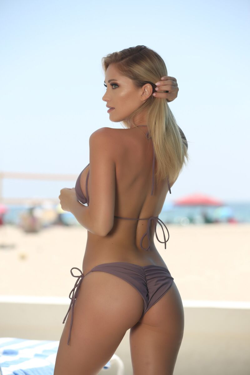 Blake Bottom in Mauve - Sweet Treat Bikinis