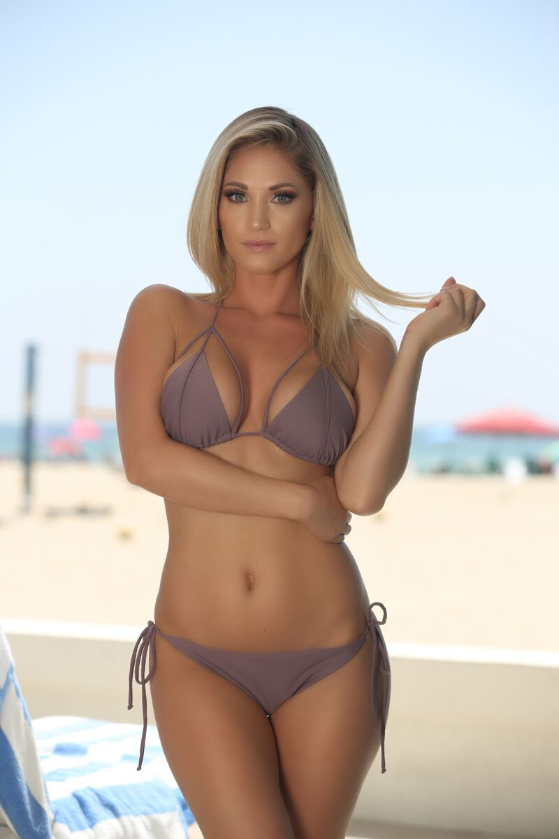 Hayden Top in Mauve - Sweet Treat Bikinis