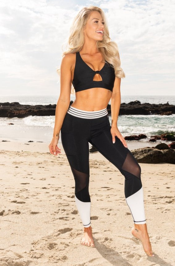 Dylan Sports Bra - Black