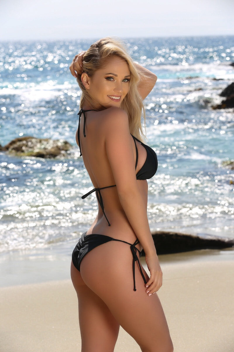 Blake Bottom in Black - Sweet Treat Bikinis
