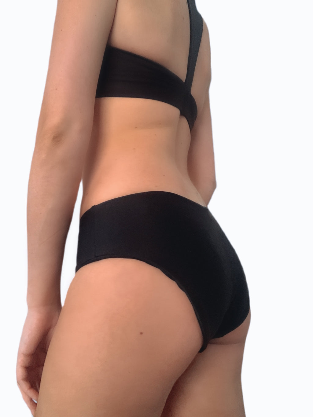 Everly Bottom - Black (Cheeky or Full Coverage)