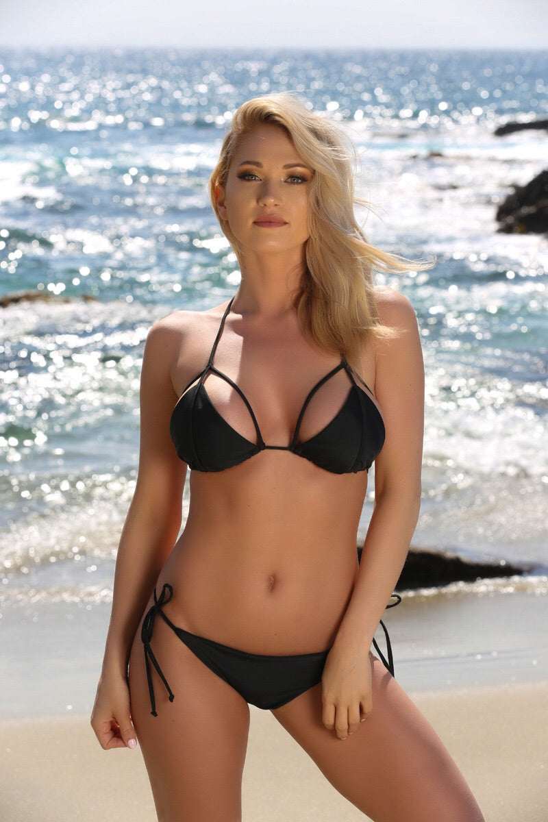 Hayden Top in Black - Sweet Treat Bikinis