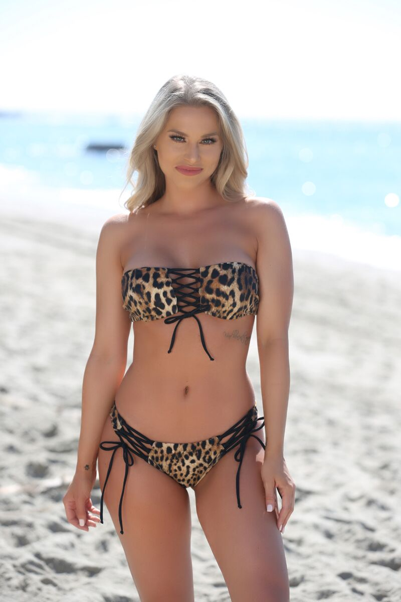 Avery Bottom in Leopard - Sweet Treat Bikinis