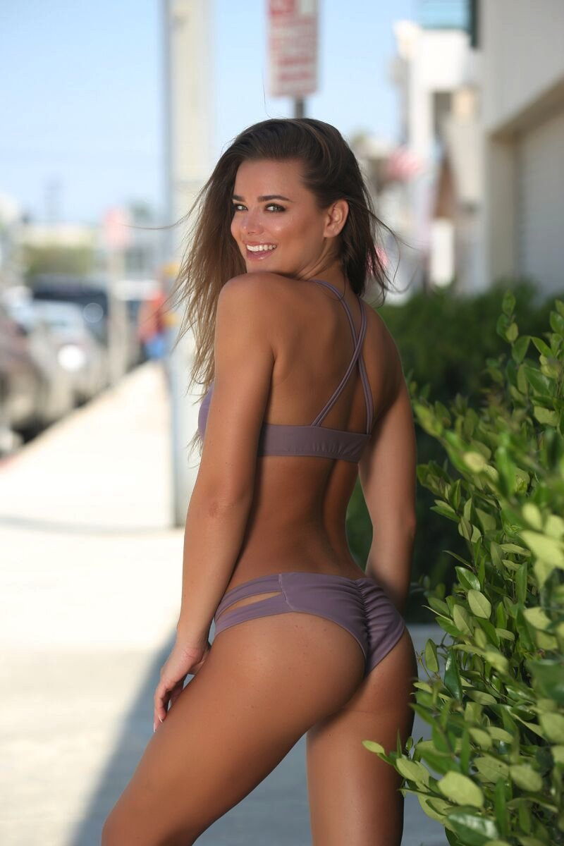 Layla Bottom in Mauve - Sweet Treat Bikinis