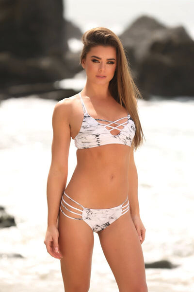 Stella Top in Marble - Sweet Treat Bikinis