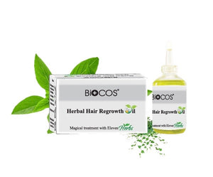 Biocos Herbal Hair Regrowth Oil Treatment