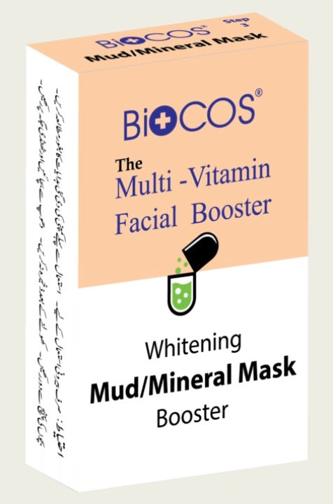 Biocos Multi Vitamin Whitening Facial Booster-Mud/Mineral/Cream Mask