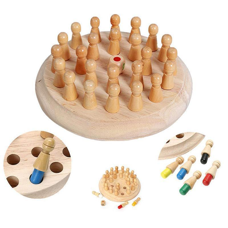 Memory chess educational toys