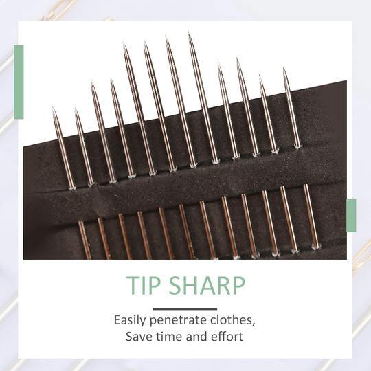 12 PCS Self-threading Needles