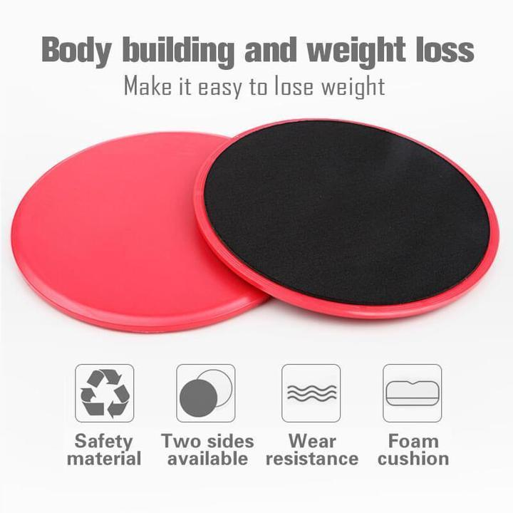 Multifunctional Sliding Fitness Disk
